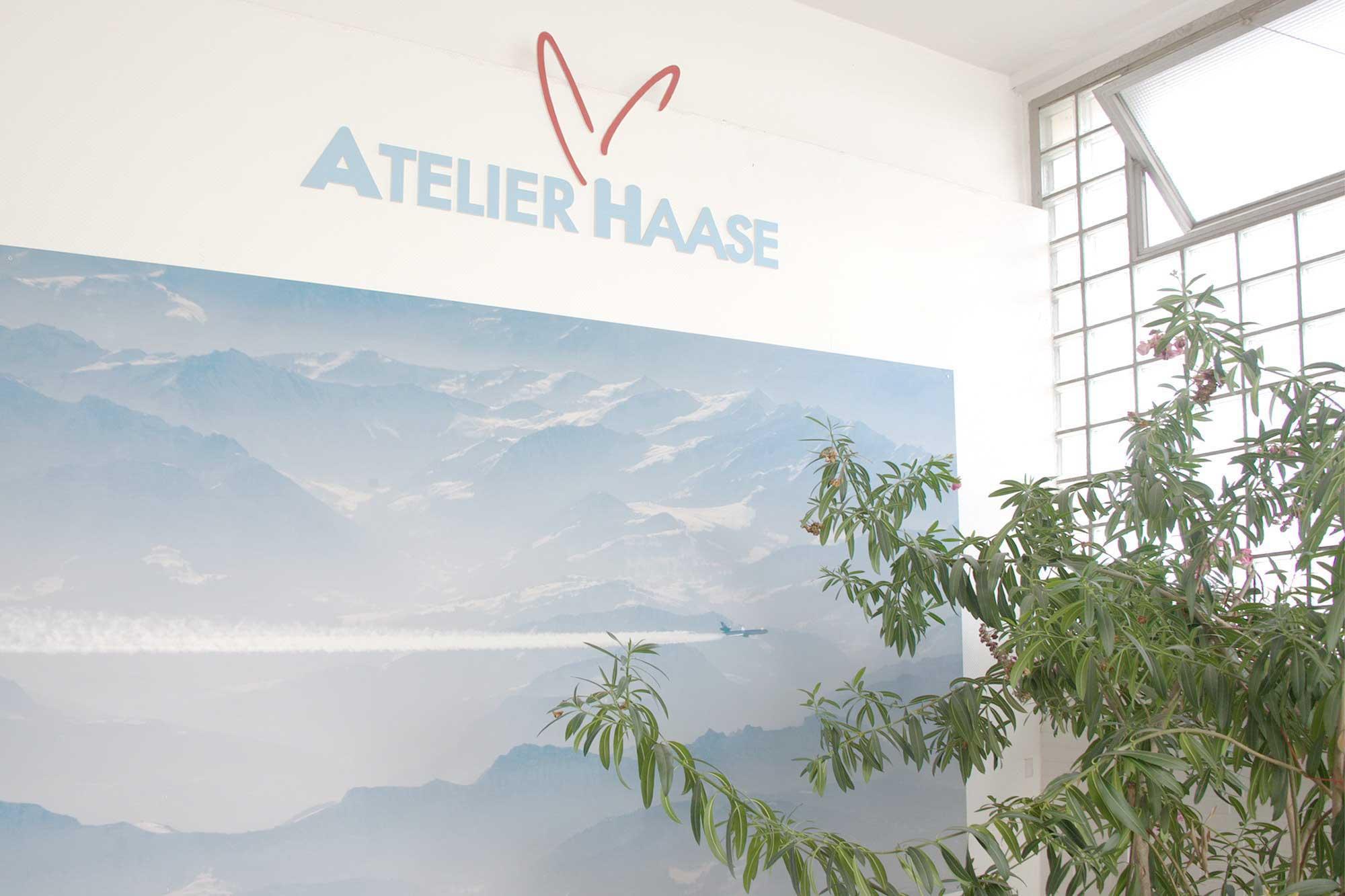 Sie finden uns im 2. Stock © Atelier Haase - Foto: Katharina Hansen-Gluschitz