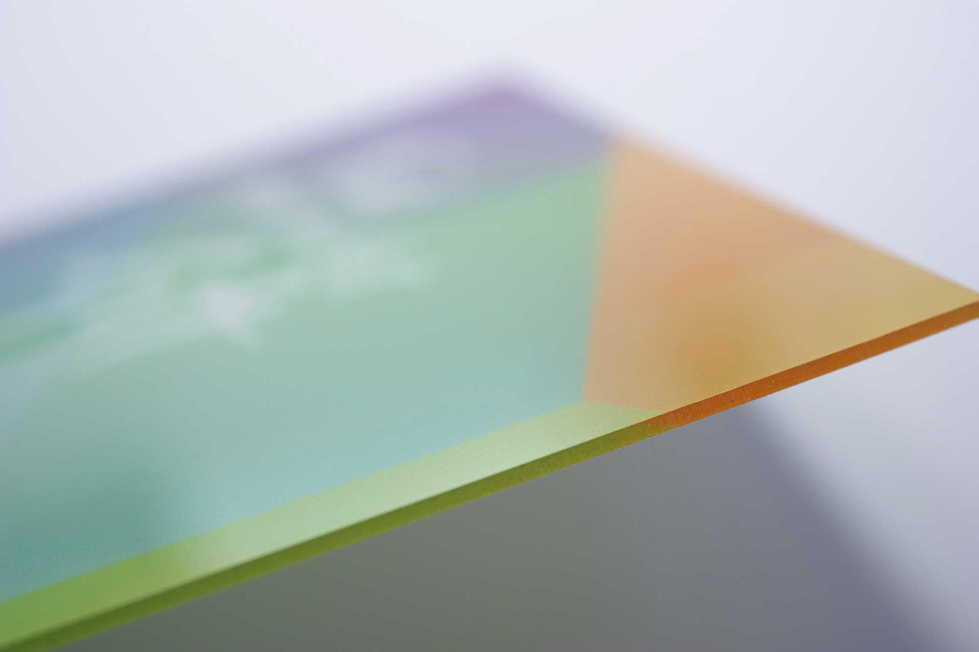 geschnittene Acrylplatte © Atelier Haase - Foto: Katharina Hannsen-Gluschitz