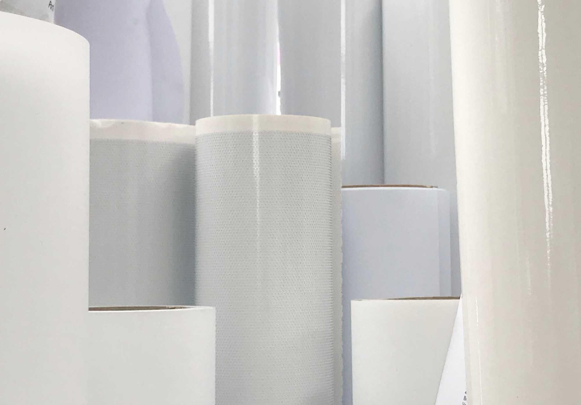 Folien und Papierrollen © Atelier Haase - Foto: Katharina Hannsen-Gluschitz
