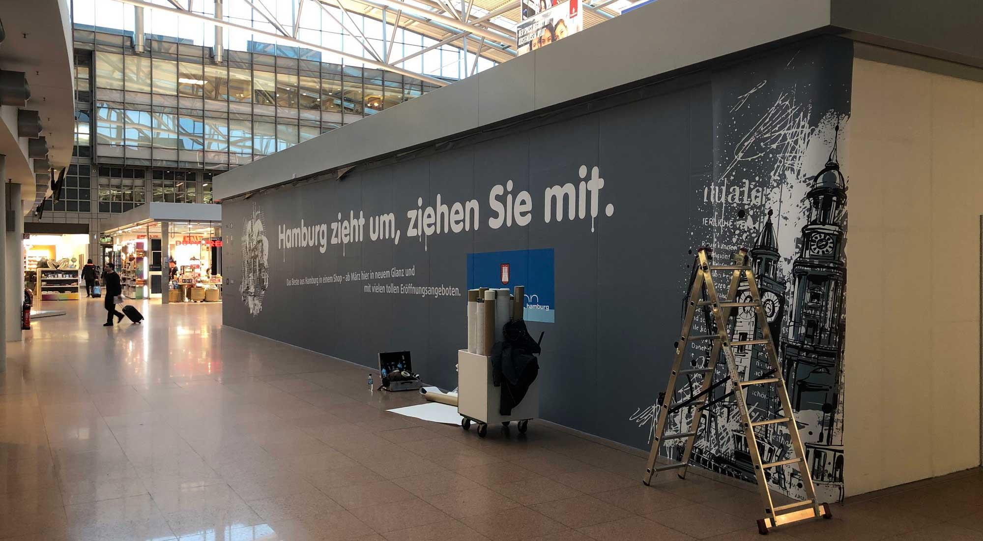 Großformatdruck © Atelier Haase - Foto: Hans-Heinrich Haase